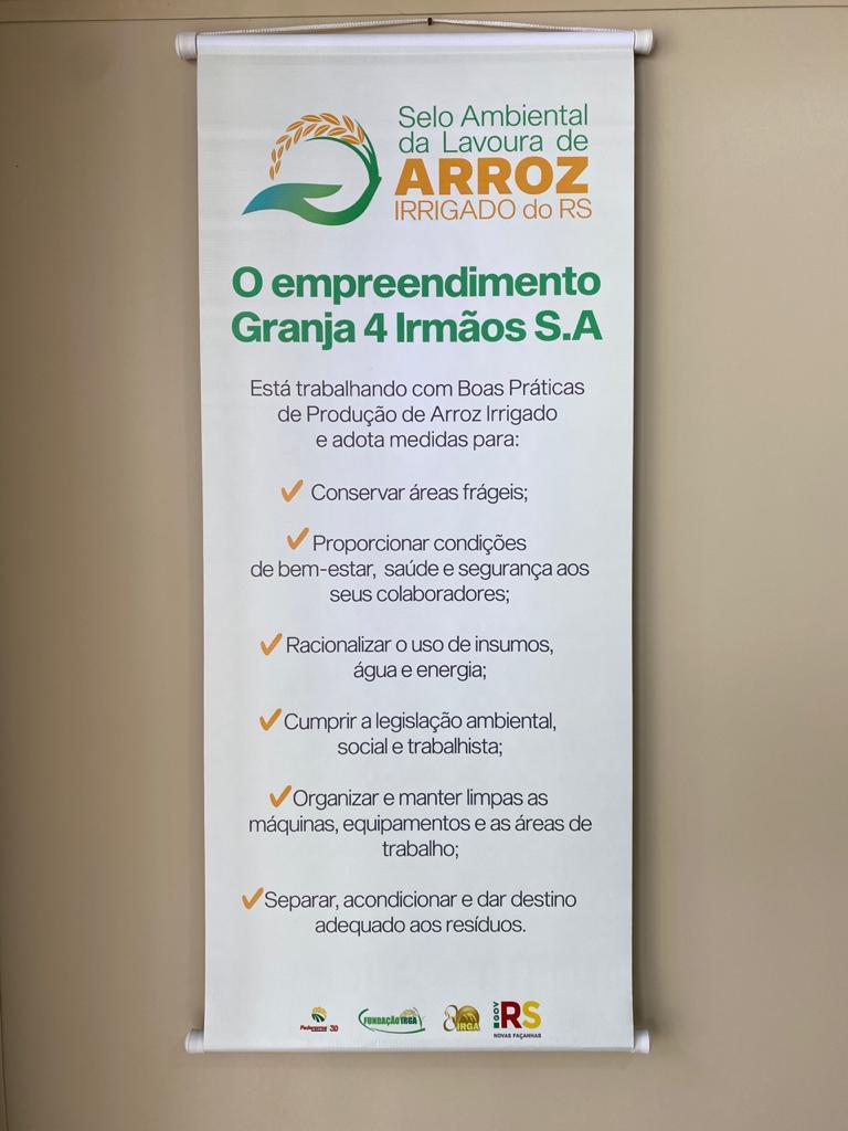 Selo ambiental do IRGA 2019/2020